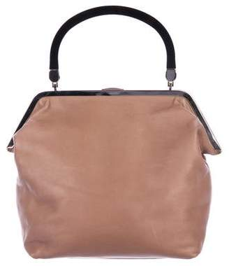 Marni Leather Frame Handle Bag