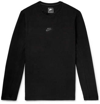 Nike Sportswear Tech Pack Cotton-Blend Tech Fleece Sweatshirt