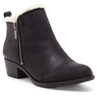 Lucky Brand Basel Faux Fur Lined Bootie