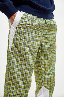Urban Outfitters Plaid Pattern Wind Pant