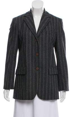 Philosophy di Alberta Ferretti Striped Wool Blazer