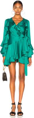 Patbo Ruffle Mini Wrap Dress
