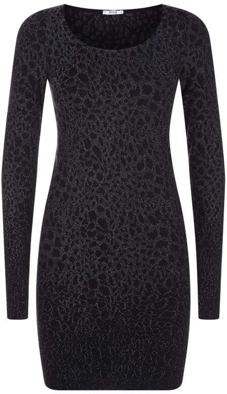 Ashley Leopard Dress