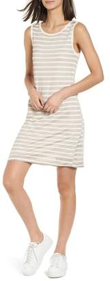 Splendid Stripe Linen Tank Dress