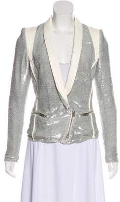 IRO Sequin Embellished Blazer