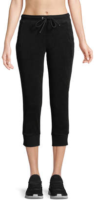 Marc Ny Performance Cropped Terry Jogger Pants