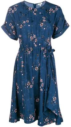 Kenzo floral flared dress