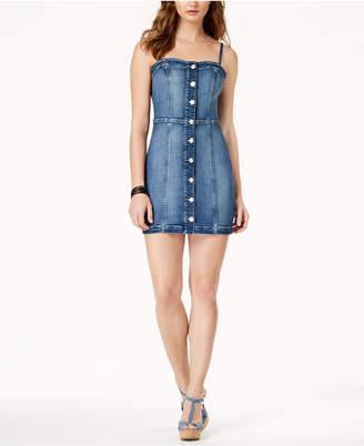 GUESS Ariana Denim Bodycon Dress