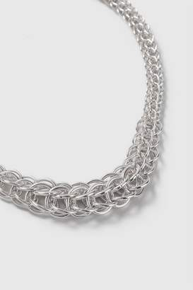 Wallis Silver Finish Chain Necklace