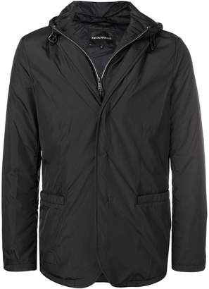Emporio Armani waterproof blazer-shaped jacket