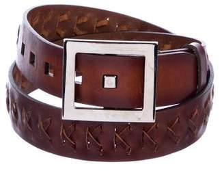 Dolce & Gabbana Braided Leather Belt