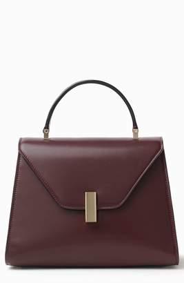 Valextra Iside Guilloche Medium Top Handle Bag