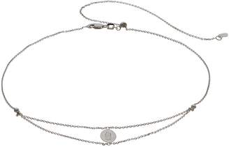 Sterling Silver Virgin Mary Choker Necklace