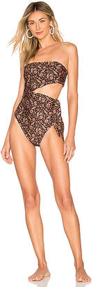 Zimmermann Scarf Cut Out One Piece