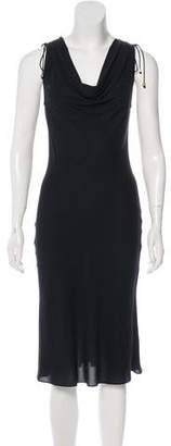 Celine Silk Cowl Neck Dress w/ Tags