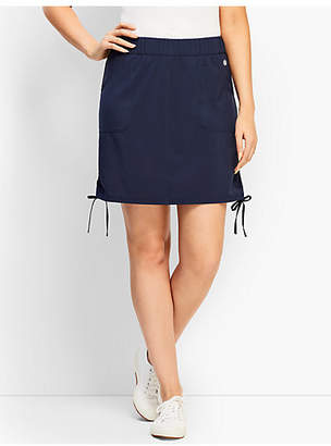 Talbots Stretch Woven Side-Tie Skort