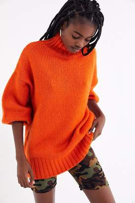 Urban Outfitters Gemma Cozy Turtleneck Cocoon Sweater