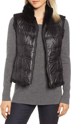 Linda Richards Reversible Genuine Rabbit Fur Vest