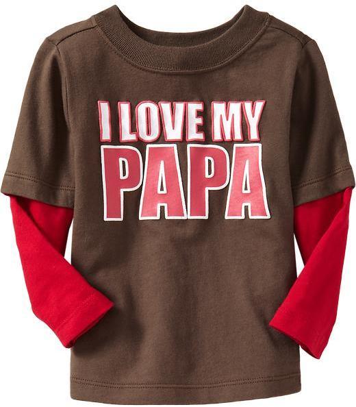 """I Love My Papa"" 2-in-1 Tees"