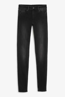 Monki Mocki washed black jeans