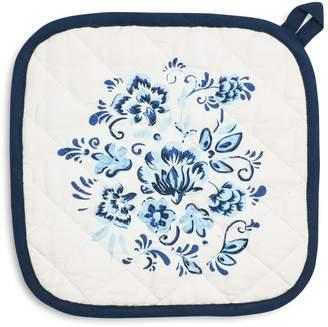 Sur La Table Floral Tile Pot Holder