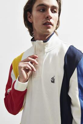 Nautica Stripe 1985 Quarter-Zip Sweatshirt