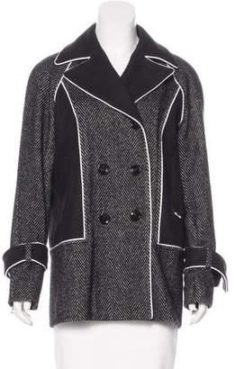 Kimora Lee Simmons Short Double-Breasted Coat