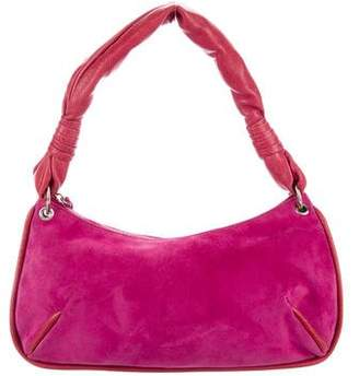Bottega Veneta Suede Shoulder Bag