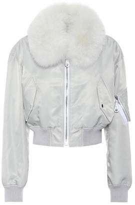 Yves Salomon Army Fur-lined bomber jacket