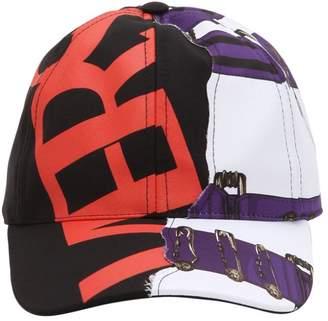 Versus Heritage Belt & Logo Gabardine Hat
