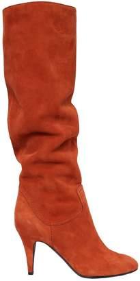 Casadei 80mm Suede Boots