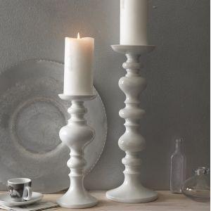 Blissliving Home Maren Candlesticks White