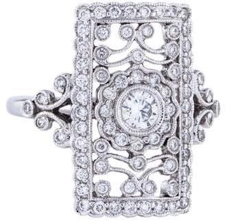 Co Gabriel & 14K Diamond Ring