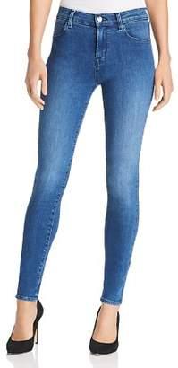 J Brand Maria High Rise Skinny Jeans in Solar