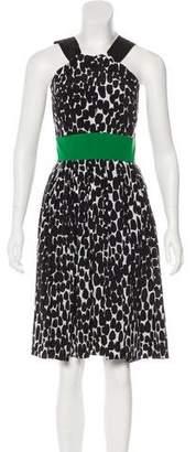 Gucci Silk Printed Dress w/ Tags