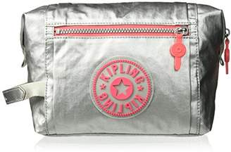 Kipling Leslie etallic Cosmetic Bag