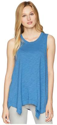 True Grit Dylan by Soft Slub Hanky Hem Tank Top Women's Sleeveless