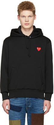 Comme des Garçons Play Black Heart Patch Hoodie $270 thestylecure.com