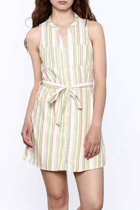 Jack by BB Dakota Petula Stripe Shirtdress $70 thestylecure.com