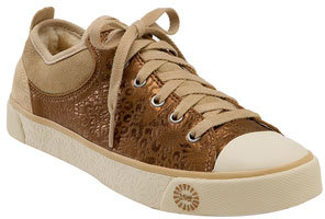 UGG® Australia 'Evera' Leather Sneaker (Women)