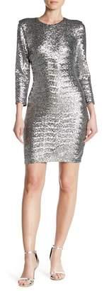 ALLEN SCHWARTZ Quinn Mini Long Sleeve Dress