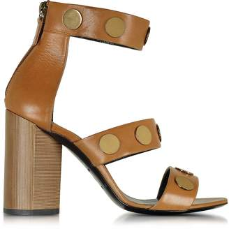Pierre Hardy Penny Camel Leather High Heel Sandal