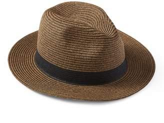 Banana Republic Straw Fedora Hat