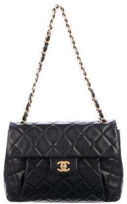 Chanel Quilted CC Shoulder Bag