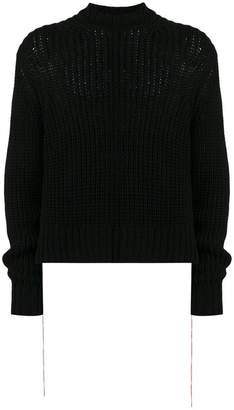 Jil Sander chunky knit sweater