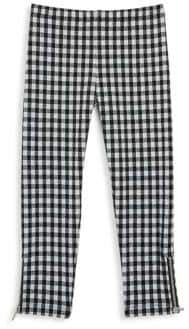 Design History Little Girl's Gingham Leggings
