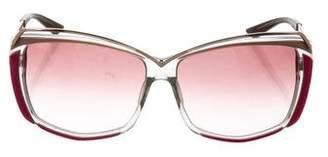Missoni Square Gradient Sunglasses