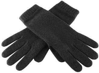 Black Ladies Cashmere Gloves