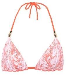 Heidi Klein Montserrat printed bikini top