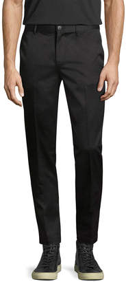 Givenchy Solid Flat Front Trouser